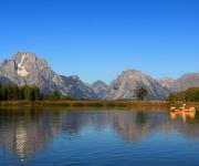 Kayaking Grand Tetons